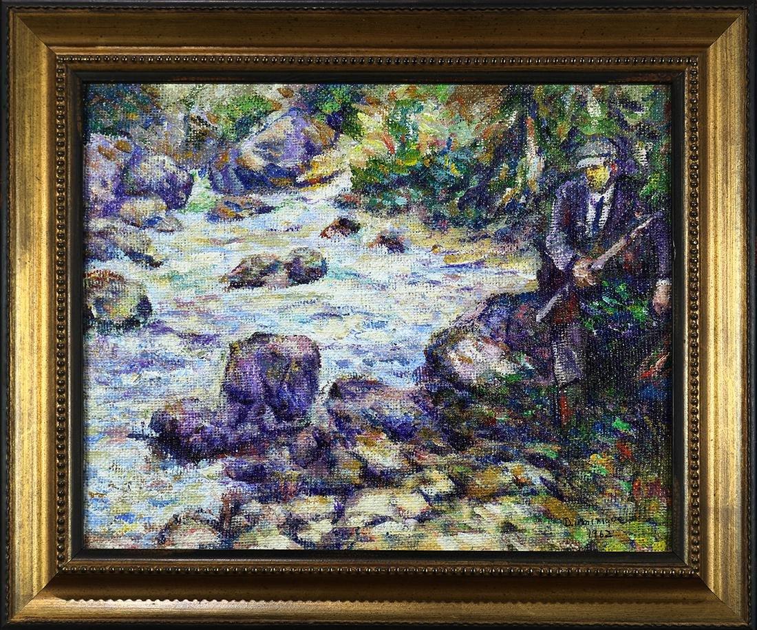 Painting, John A. Dominque - 2