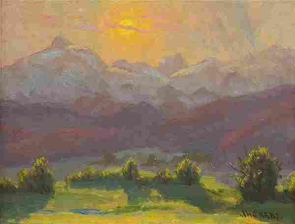 Painting, Joseph Henry Sharp