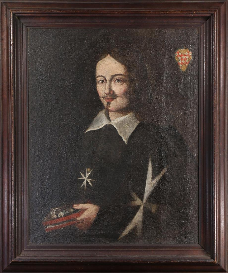 Painting, Portrait of a 17th Gentleman