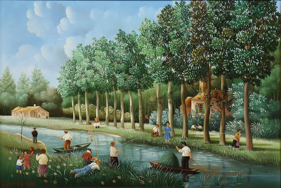 Painting, Raphael Toussaint