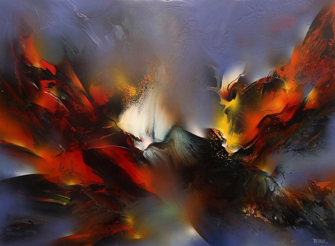 Painting, Leonardo Nierman