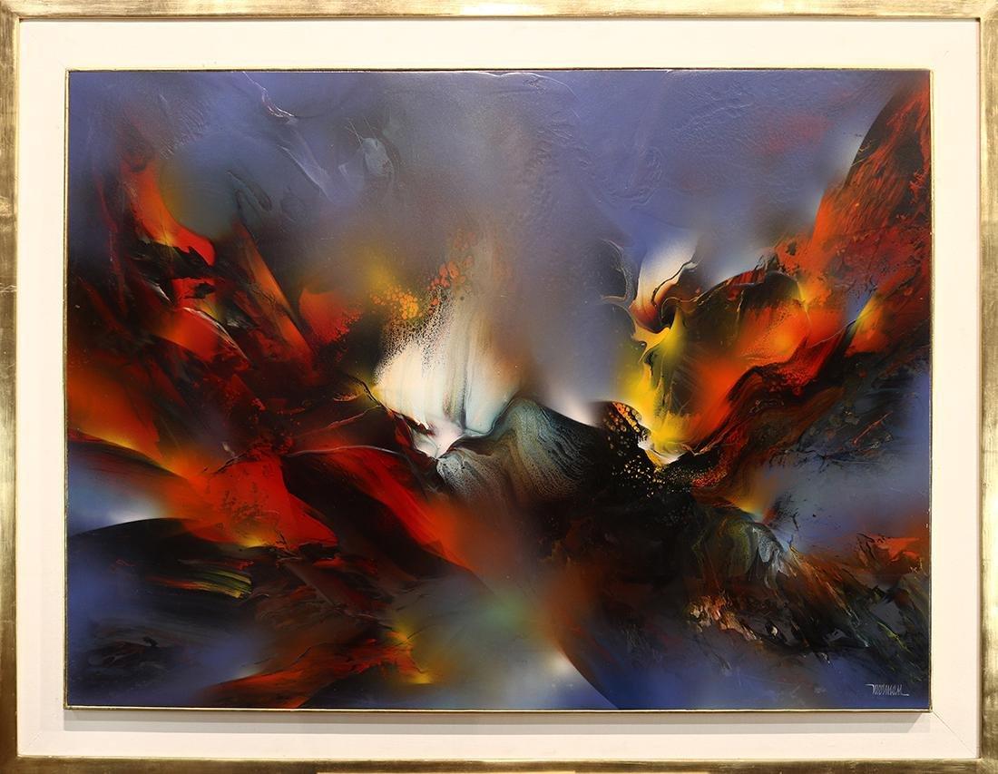 Painting, Leonardo Nierman - 2