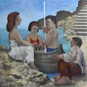 Painting, Michael Scott, Argonauts Landing