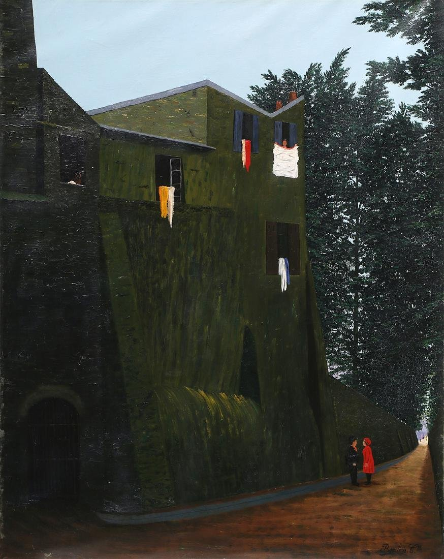 Painting, Camille Bombois