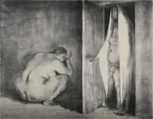 Print, Francisco Zuniga, La Vista