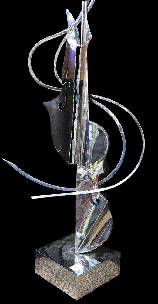 Sculpture, Leonardo Nierman