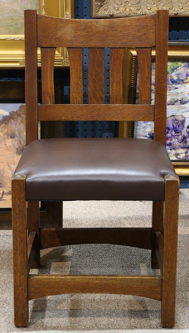 Early Gustav Stickley desk chair #2610