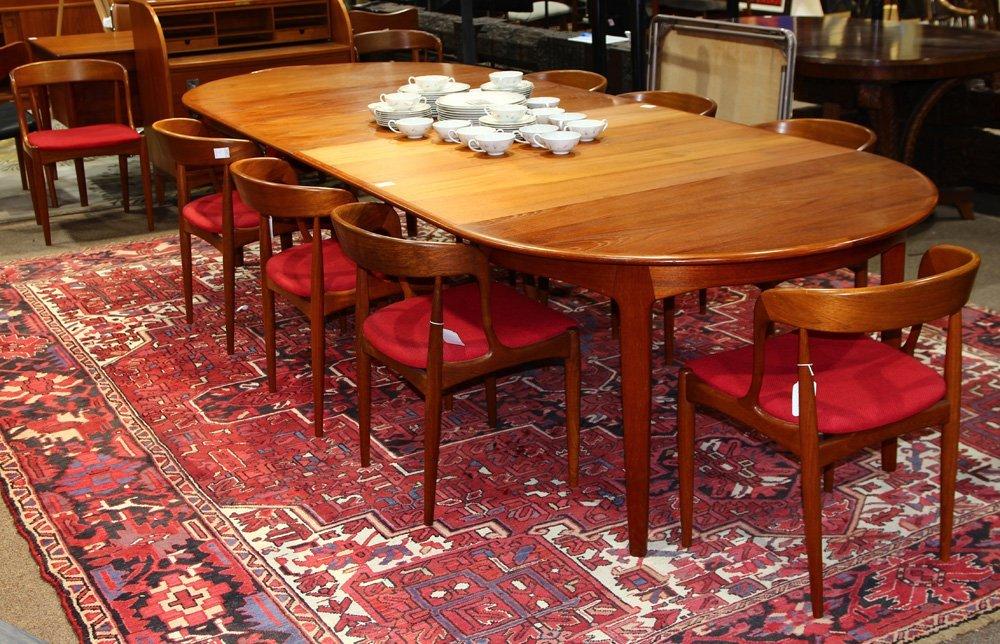 Danish Modern dining suite