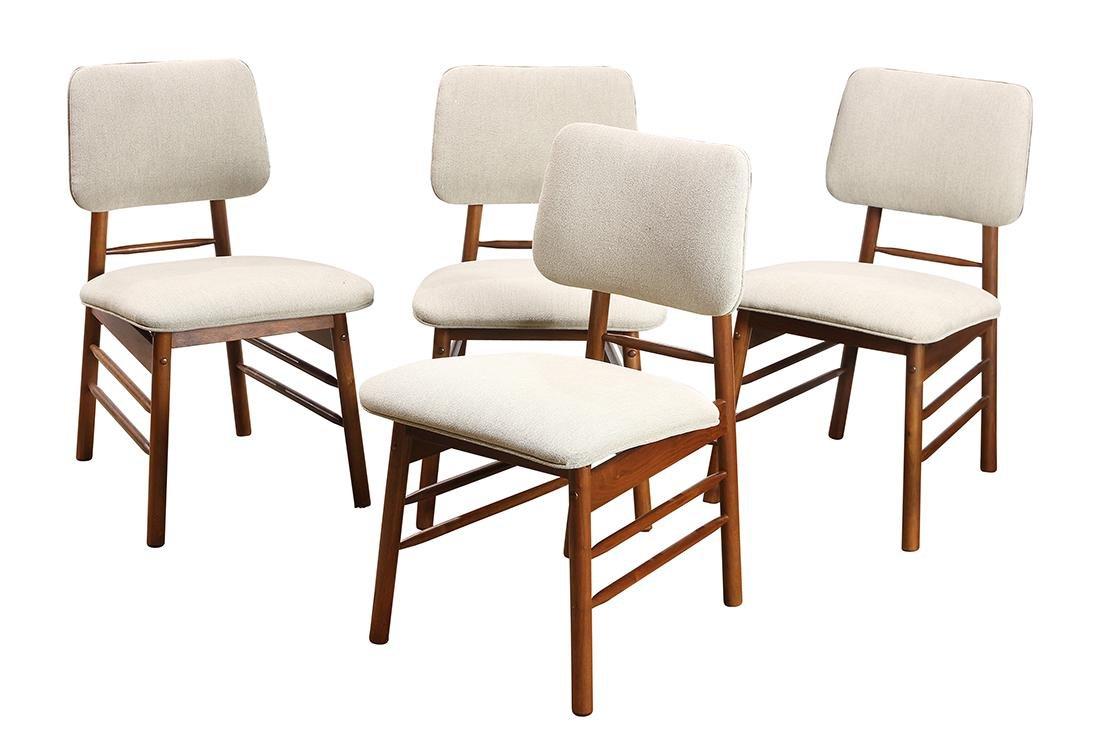 Mid-Century Modern walnut dining room suite by Greta - 5