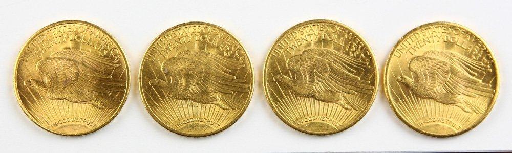 U.S $20 St. Gaudens Gold Coins - 2