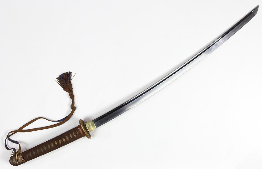Japanese Military Sword, Gunto, Katana - 3