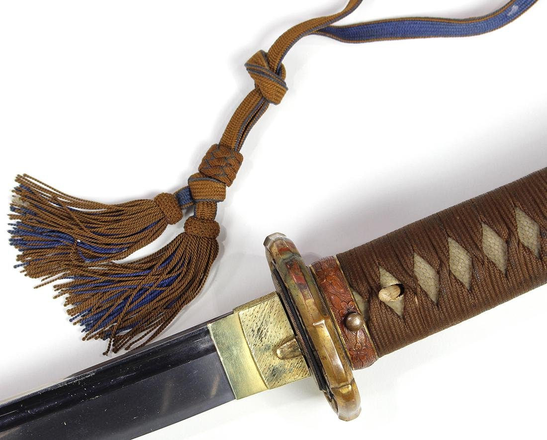 Japanese Military Sword, Gunto, Katana - 5