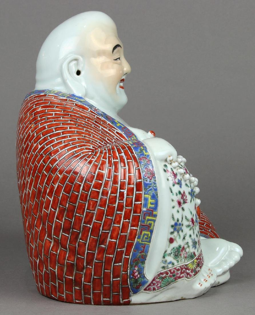 Chinese Porcelain Budai, Zhu Mao Ji - 2
