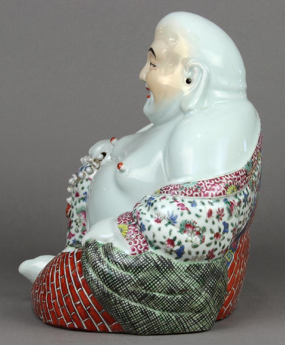 Chinese Porcelain Budai, Zhu Mao Ji - 3