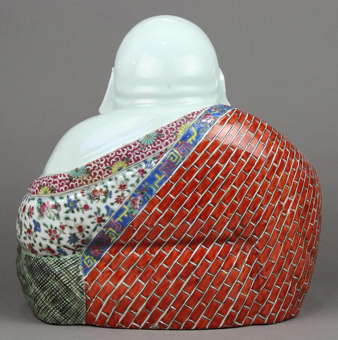 Chinese Porcelain Budai, Zhu Mao Ji - 4