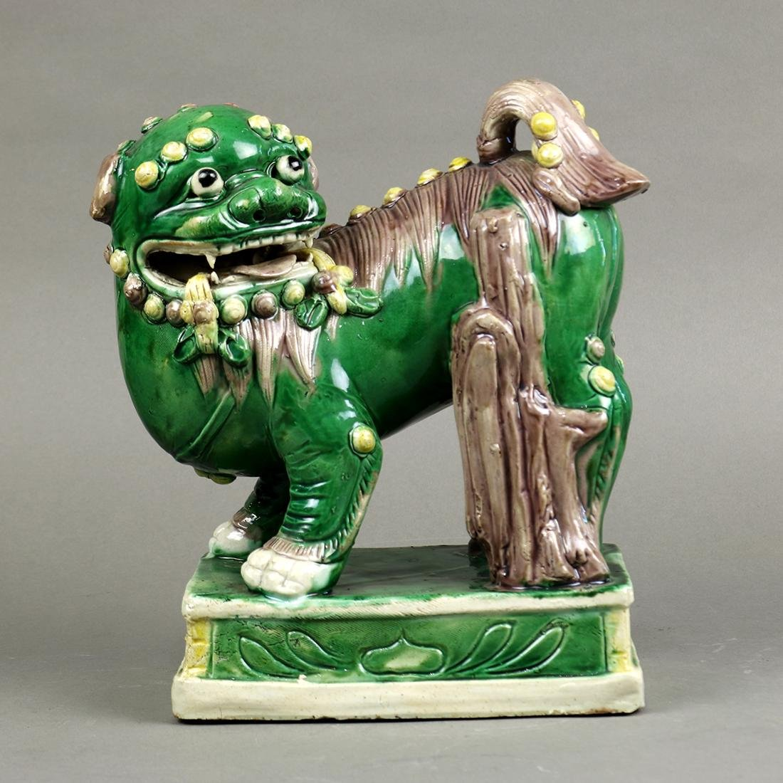 Chinese Famille Verte Lion