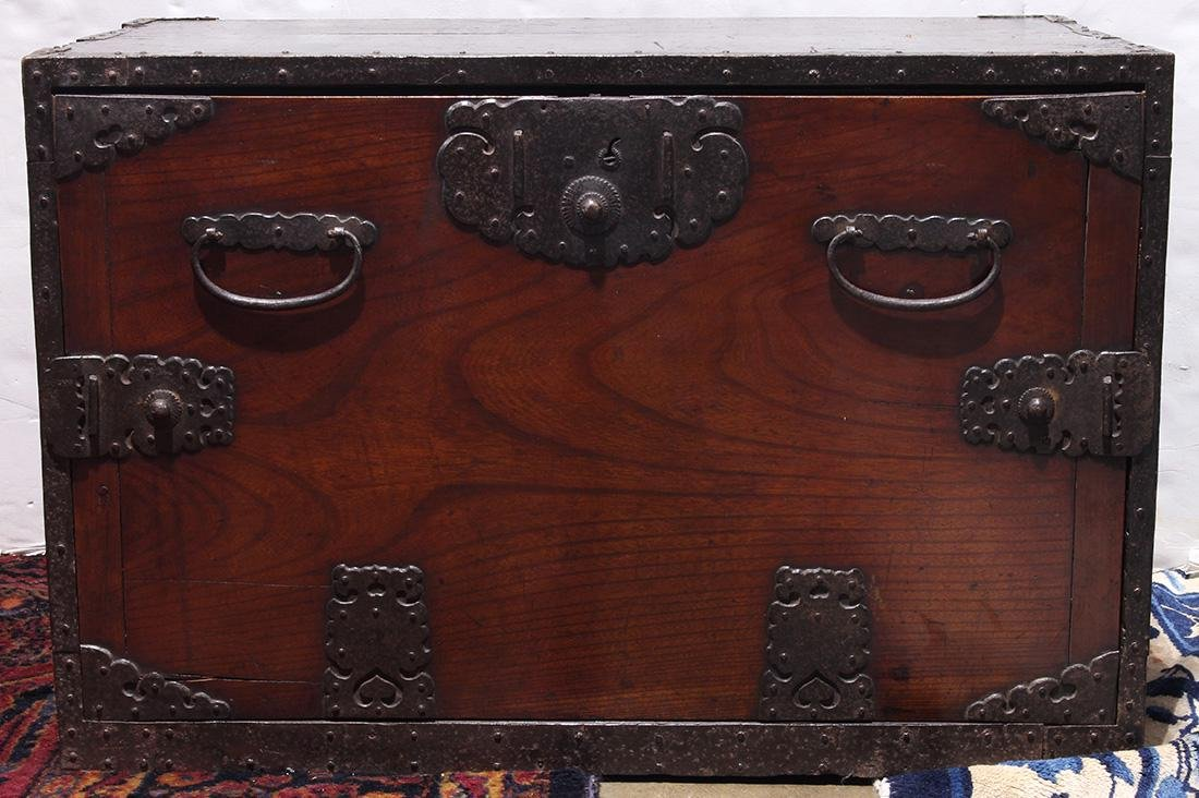 Japanese Tansu Chest, 19th century