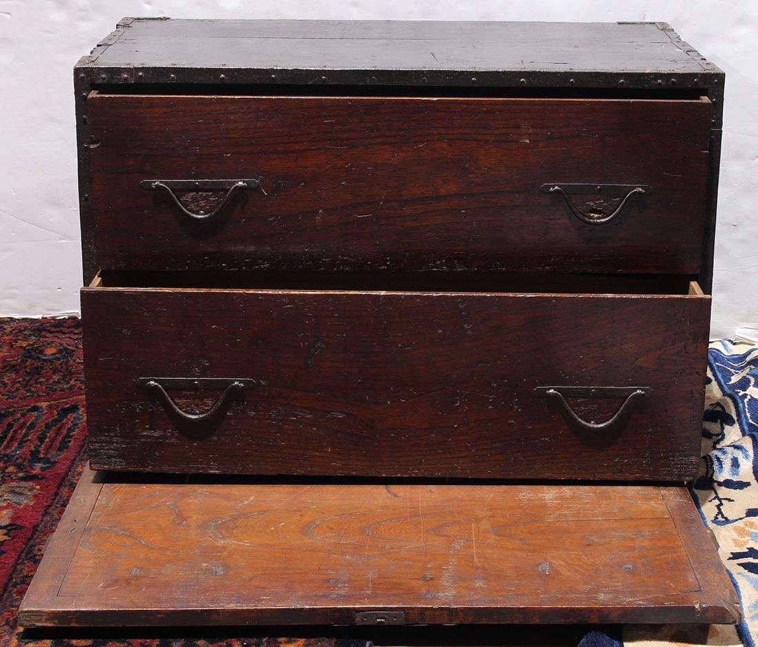 Japanese Tansu Chest, 19th century - 2