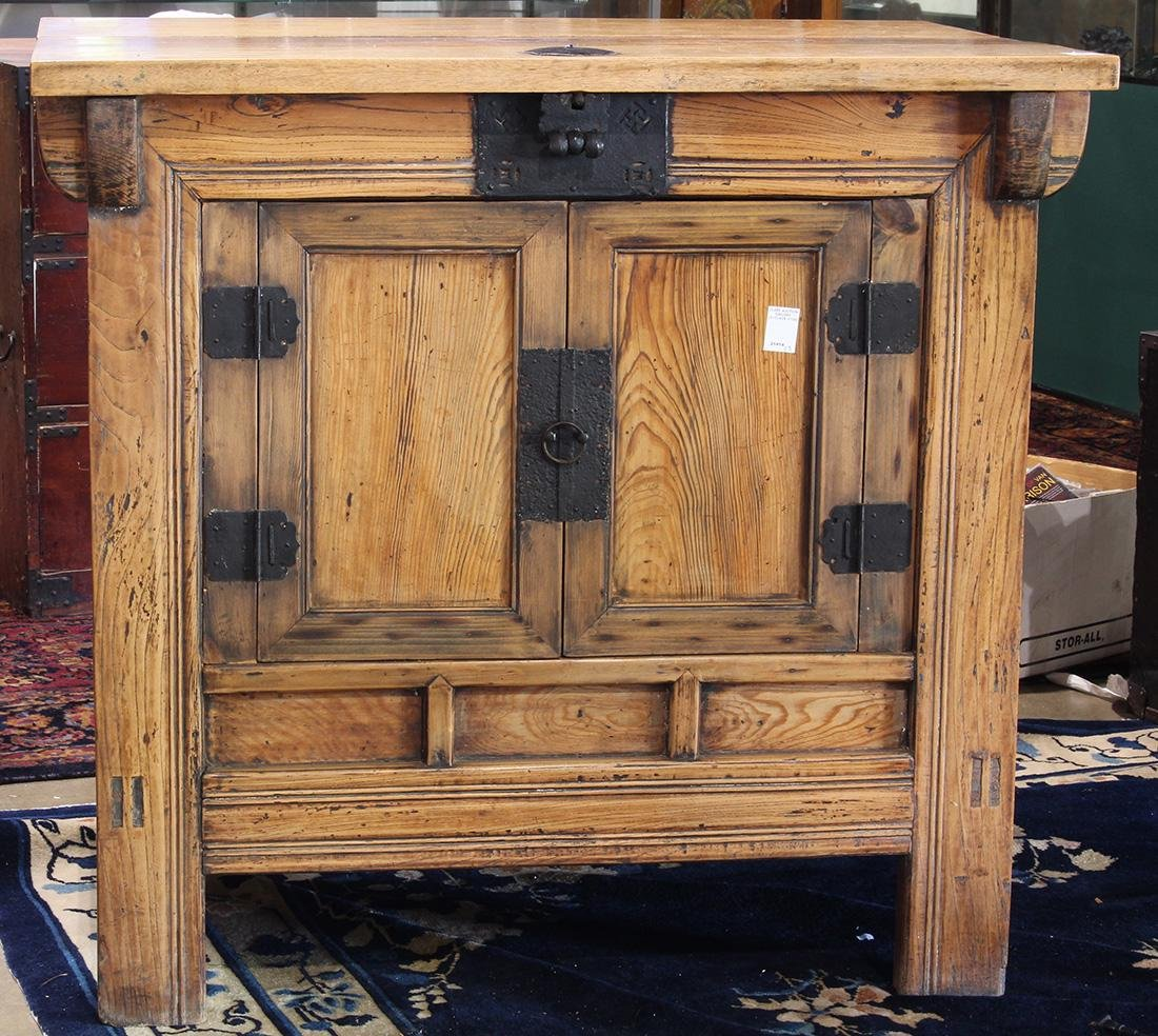 Chinese Wooden Storage Chest