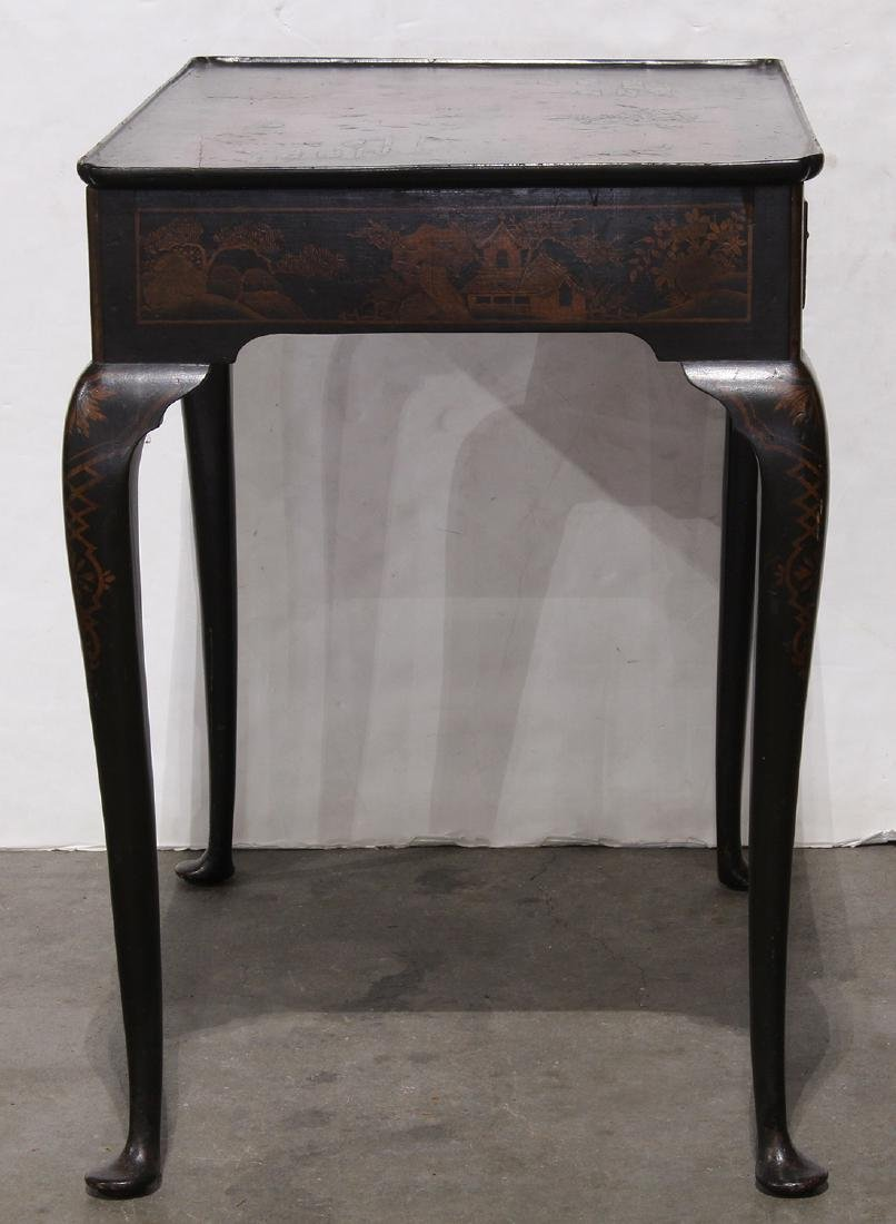 Chinoiserie Lacquered Table, Figures - 2