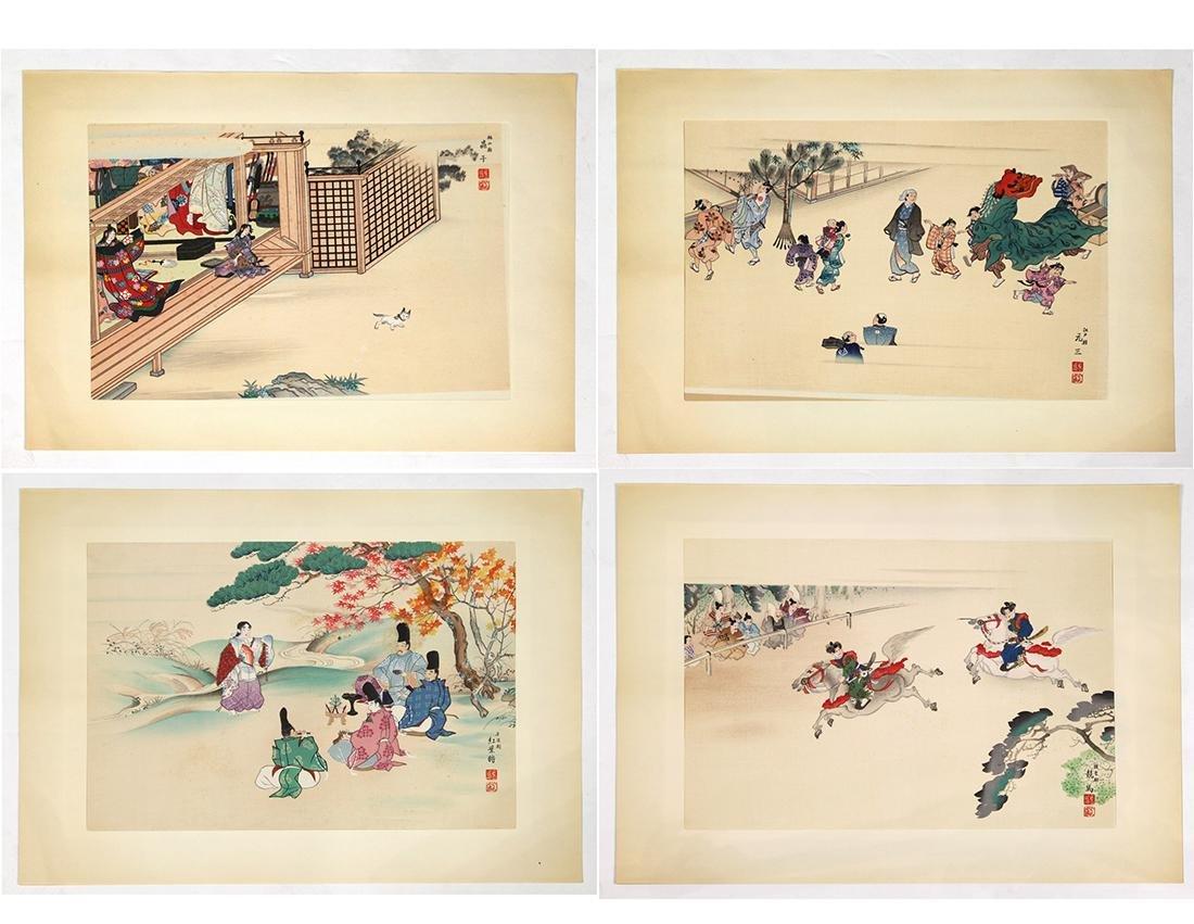 Japanese Woodblock Prints, Koitsu
