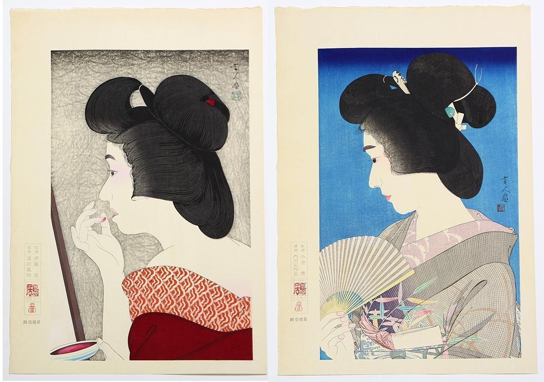 Japanese  Woodblock Prints, Torii Kiyotada  ,