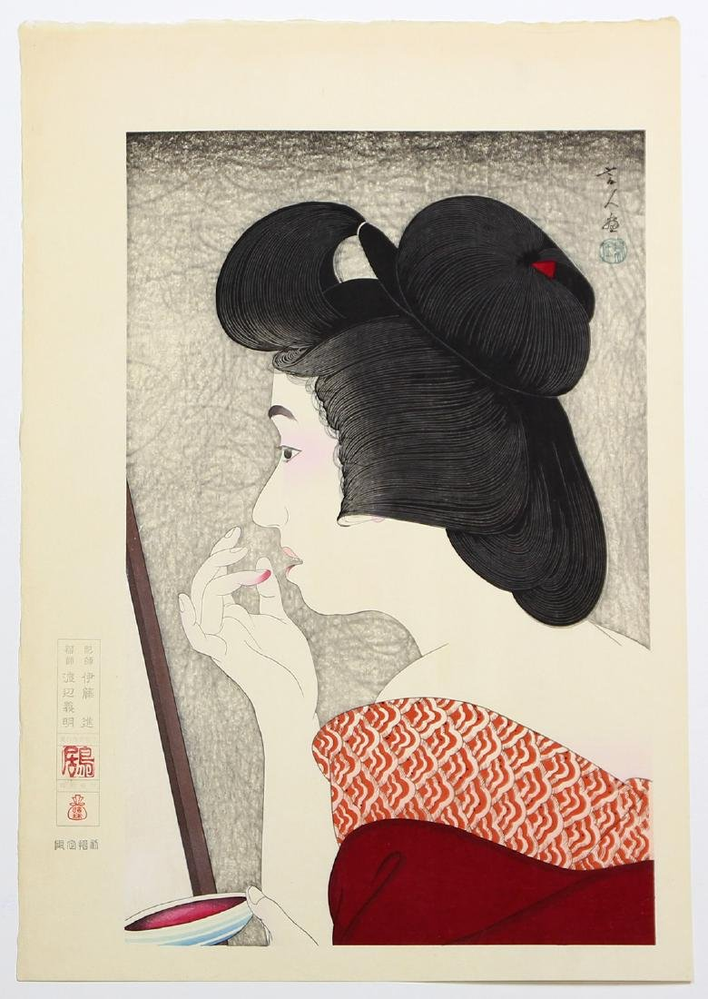 Japanese  Woodblock Prints, Torii Kiyotada  , - 3