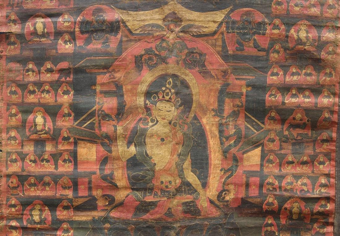 Himalayan Thangka, Tara - 4