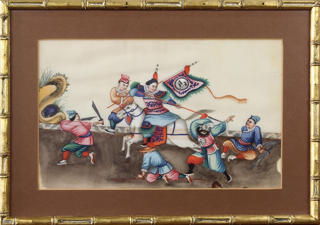 Chinese Pith Paintings, Figures - 10