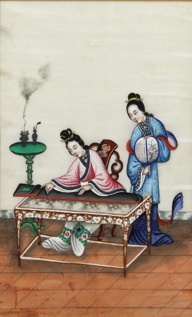 Chinese Pith Paintings, Figures - 5