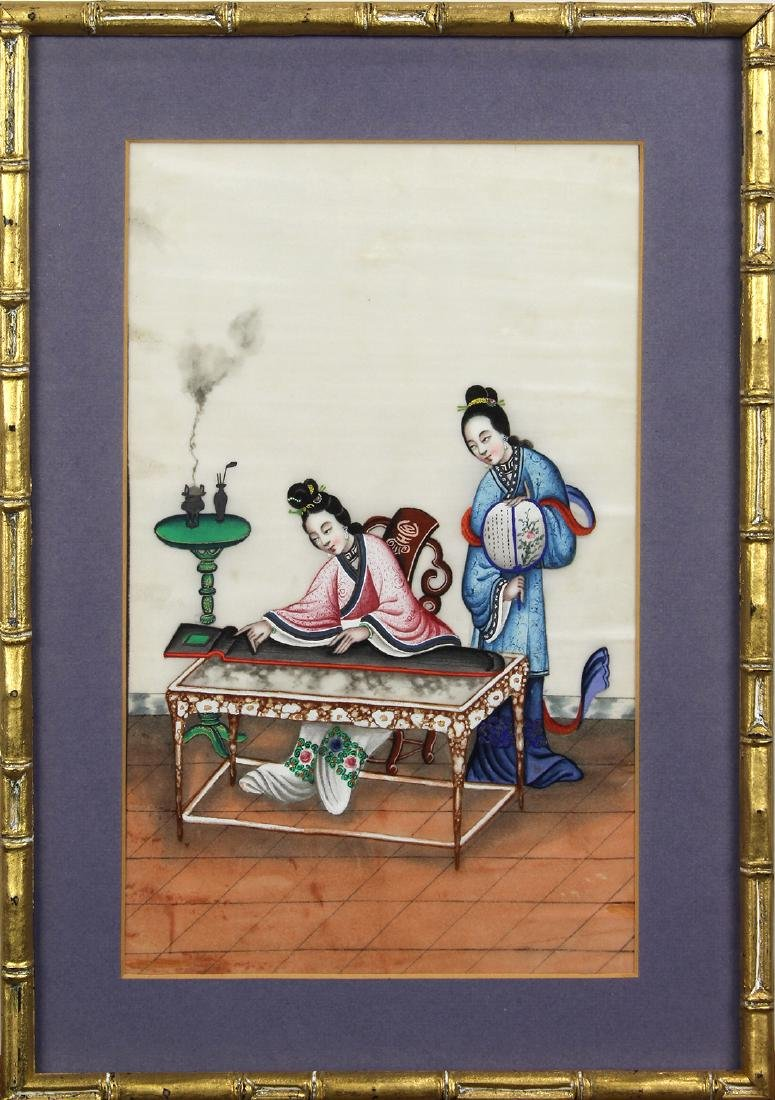 Chinese Pith Paintings, Figures - 6