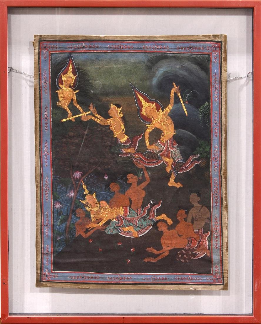 Thai Painting of Celestials - 2