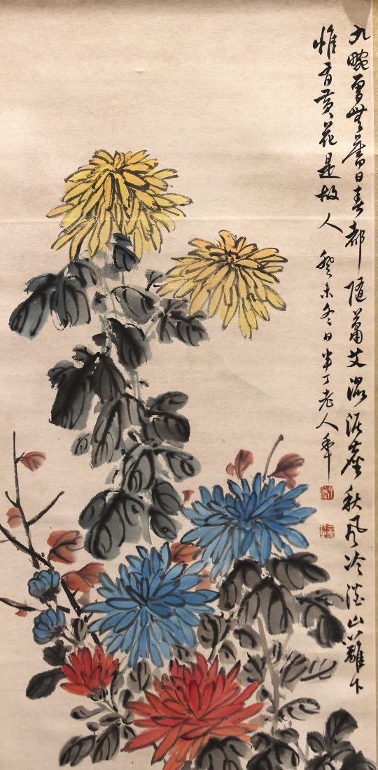Chinese Scroll, Manner of Chen Banding, - 2