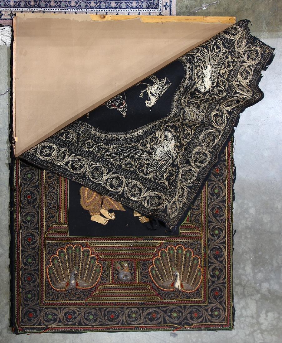 Burmese Textile, Kalaga, Figures - 2