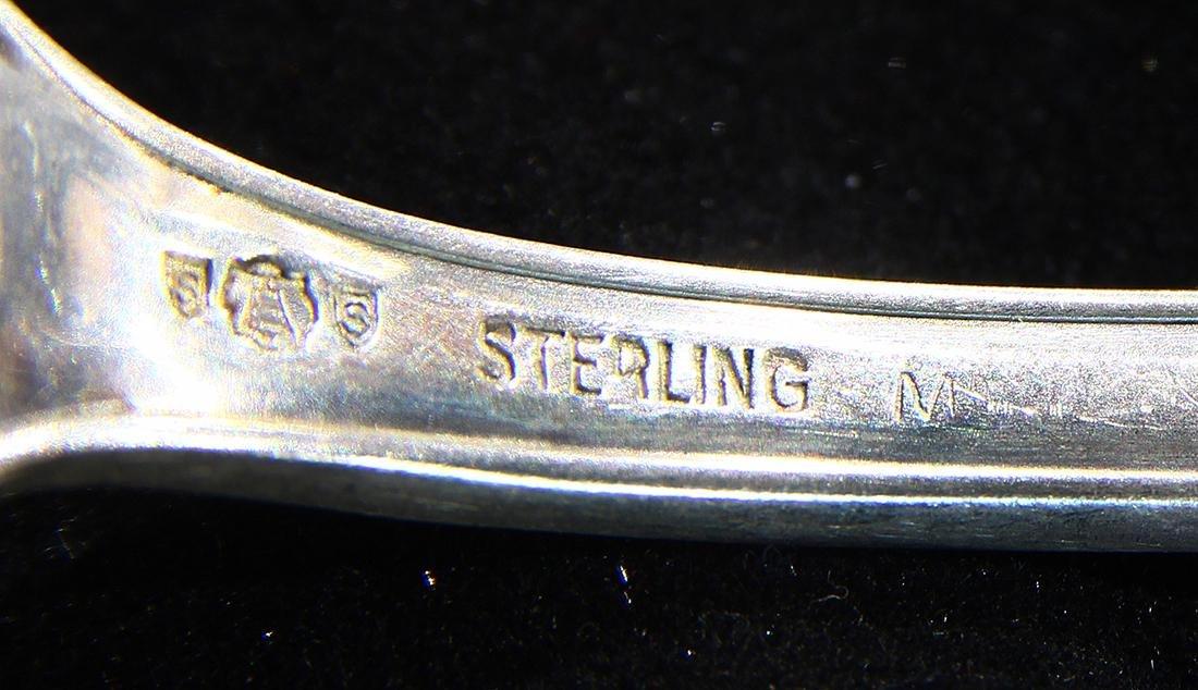 American sterling silver teaspoons, consisting of - 3