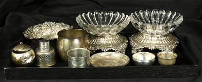 American sterling silver table articles, consisting of