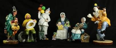 Royal Doulton porcelain figurines
