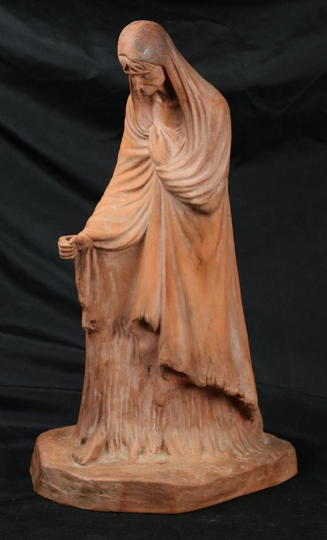 Terracotta figural sculpture