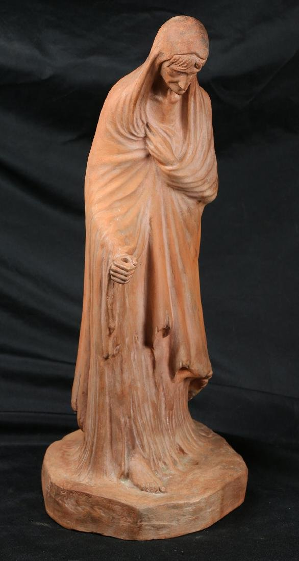 Terracotta figural sculpture - 2