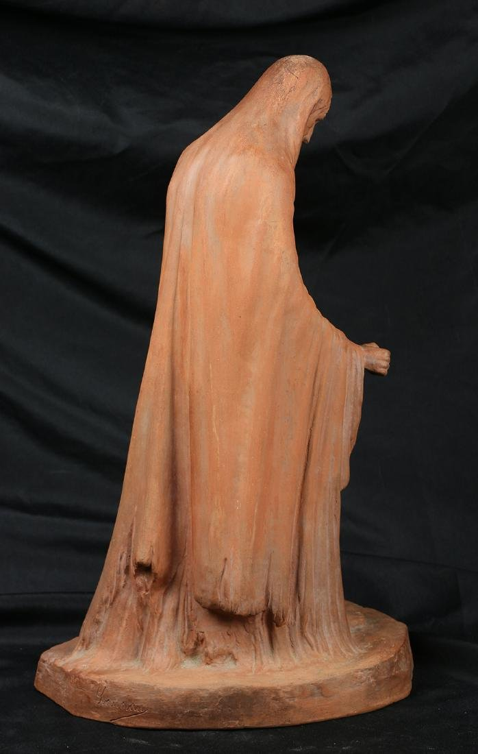 Terracotta figural sculpture - 3