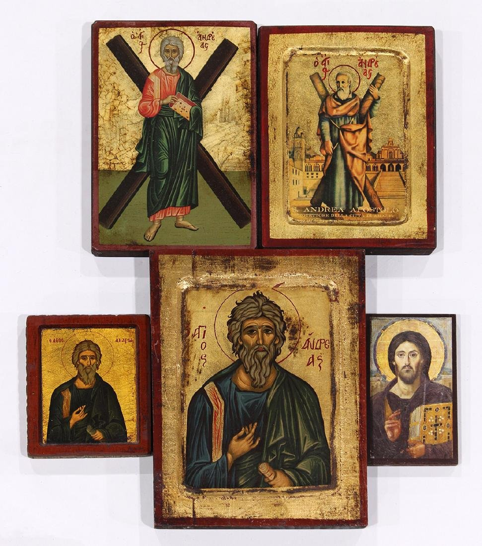 Eastern orthodox style icon group