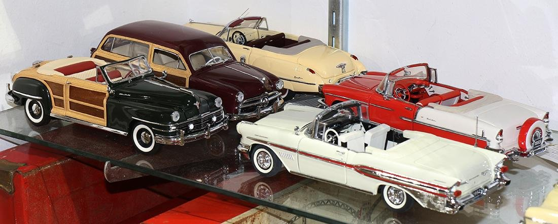 Model toy car group - 2