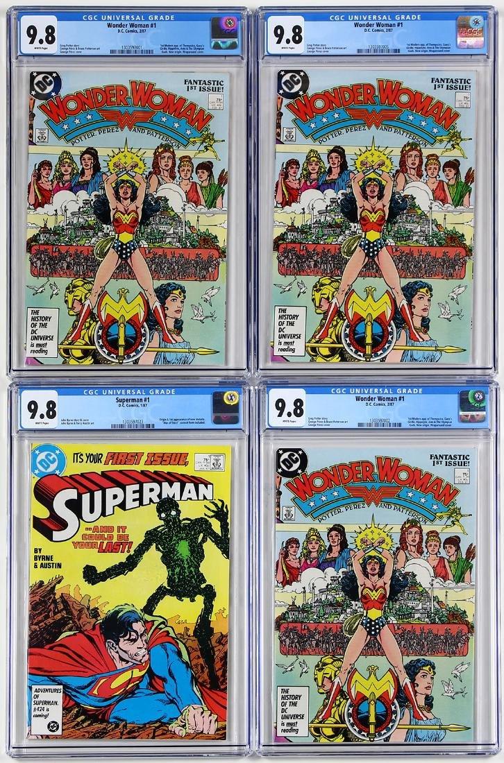 Vintage D.C. Comic book group