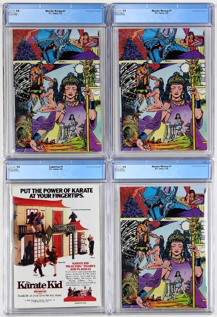 Vintage D.C. Comic book group - 2