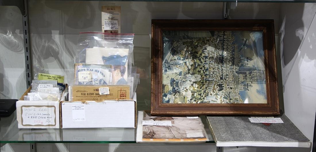 Collection of Miscellaneous military ephemera, - 2