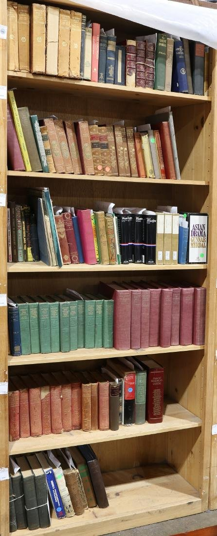 Collection of books mostly relating to literature