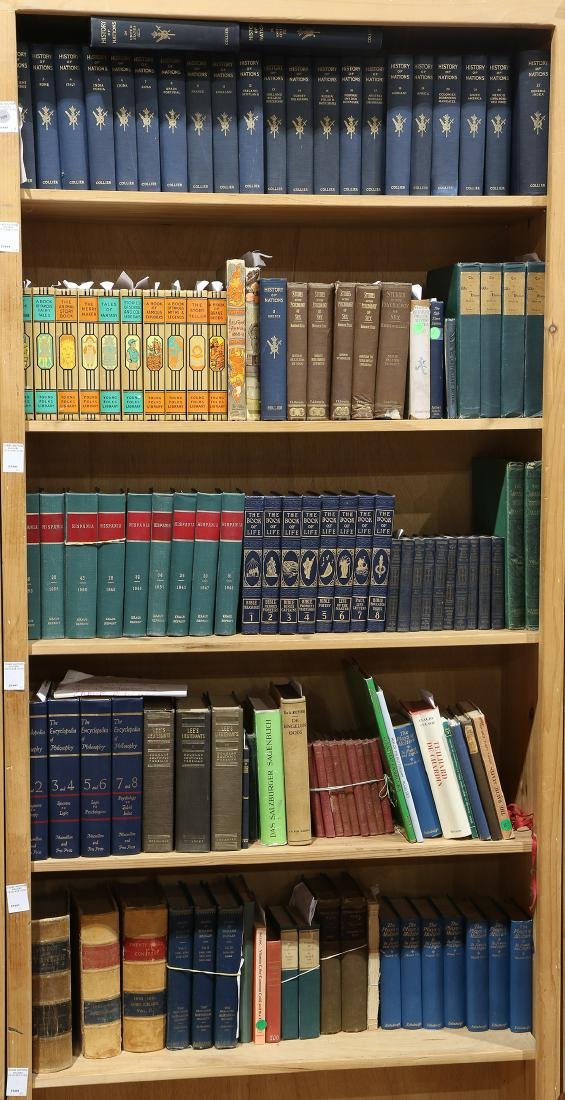 Collection of books mostly relating to literature and