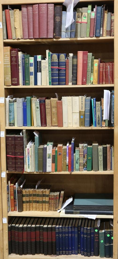 Collection of books mostly on literature and reference