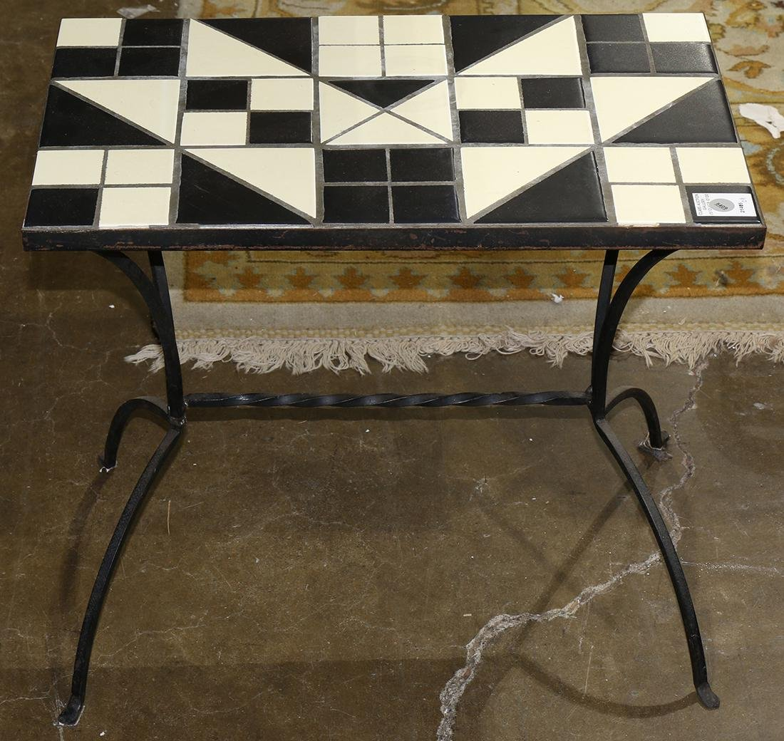 French bistro style table