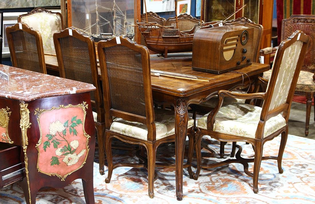 Widdicomb French provincial dining set